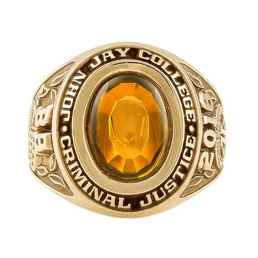 John Jay College of Criminal Justice Galaxie I Ring