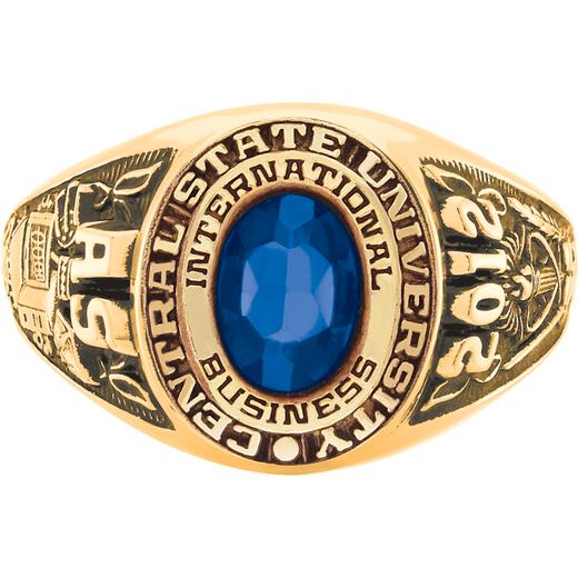 Wayne State University Women's Galaxie II Ring