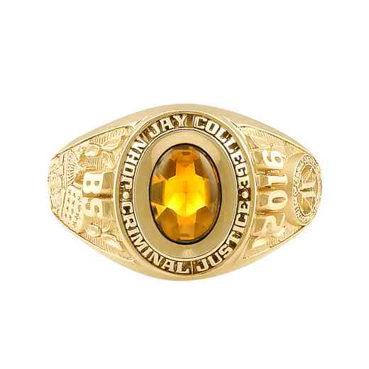 John Jay College of Criminal Justice Galaxie II Ring