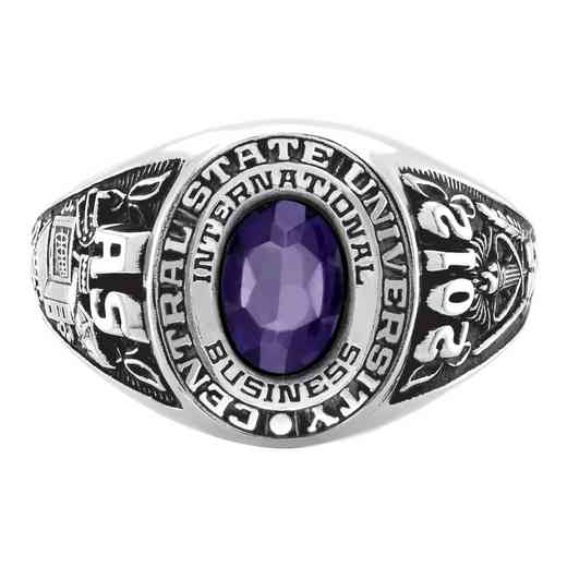 New York University Stern School of Business Galaxie II Ring