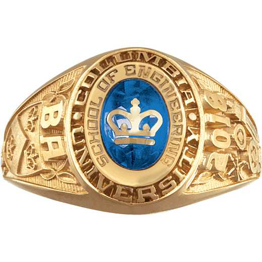 Columbia University Women's Galaxie II Ring