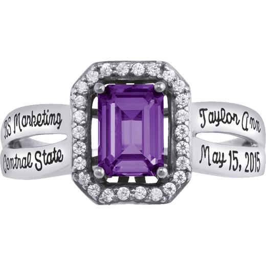 New York University Stern School of Business Inspire Ring