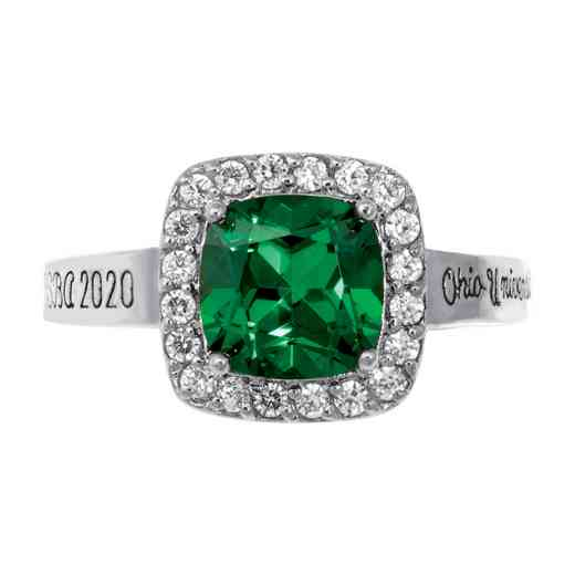 Ohio University College Bookstore Women's Embrace v2 Ring
