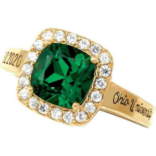 Ohio University Women's Embrace Ring
