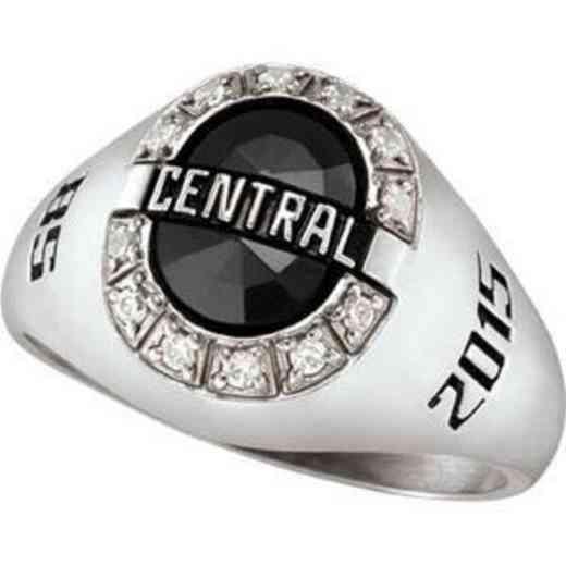 Wright State University Boonshoft School of Medicine Women's Enlighten Ring with Diamond