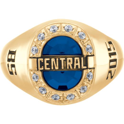John Jay College of Criminal Justice Enlighten Ring