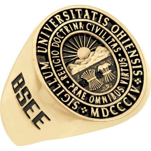 Ohio University Men's Signet Ring