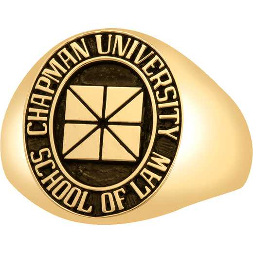 Chapman University School of Law Men's Signet Ring