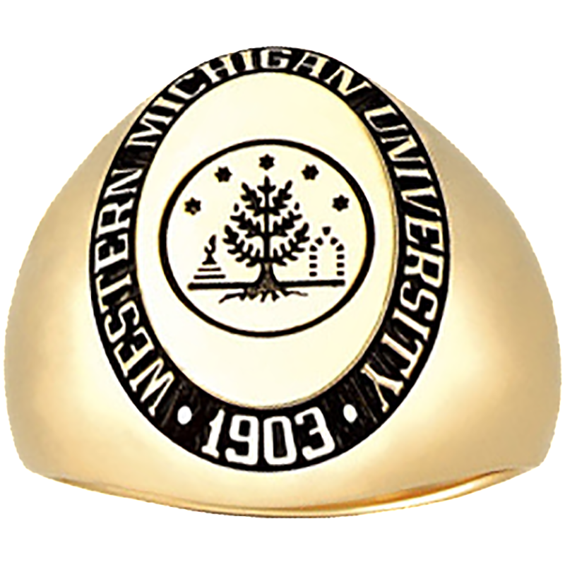Western Michigan University Men's Signet Ring