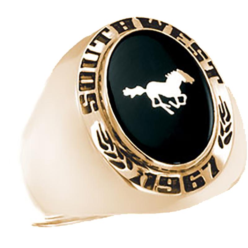 Southwest Minnesota State University Mens Signet Ring