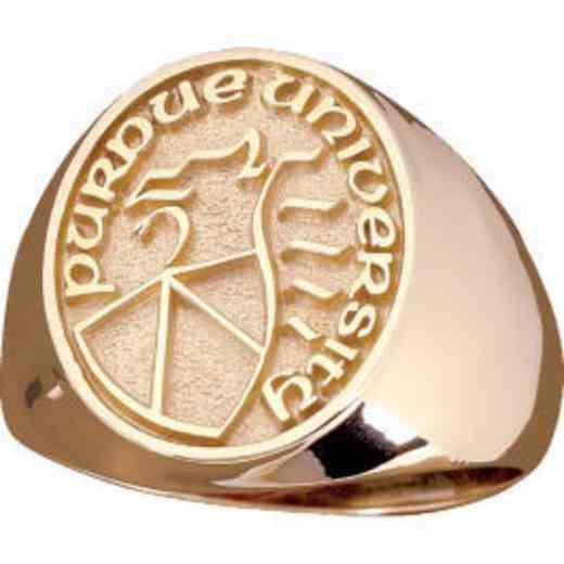 Indiana University - Purdue University Indianapolis Standard Oval Signet Ring