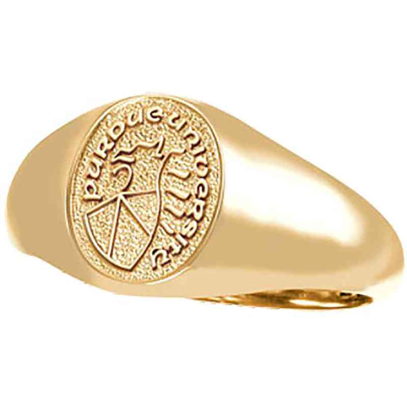 College of Technology at Columbus Women's Petite Signet Ring