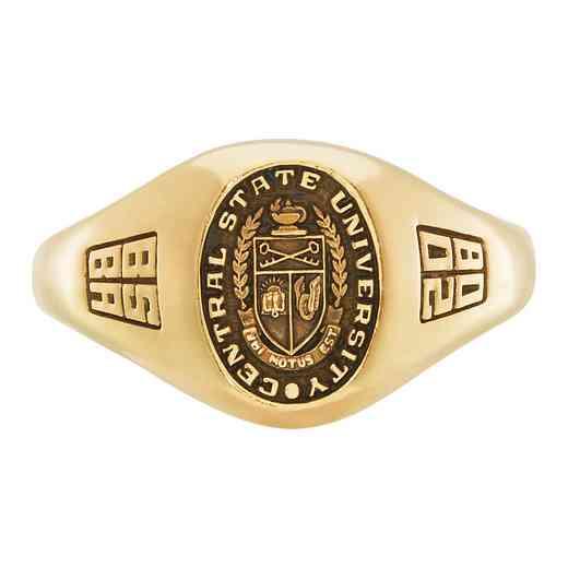 Multi-Choice Standard Women's Small Signet Ring