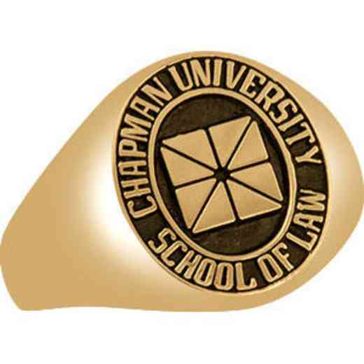 Chapman University School of Law Women's Signet Ring