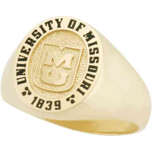 University of Missouri Women's Small Signet Ring