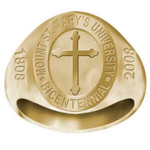 Mount Saint Mary's University Women's 2008 Bicentennial Signet Ring
