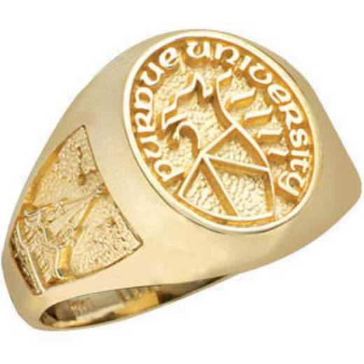 Purdue University Follett West Bookstore Women's Small Signet Ring