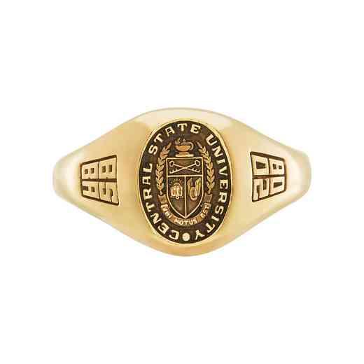 Multi-Choice Standard Women's Tiny Signet Ring