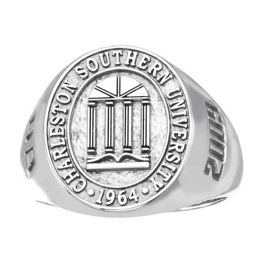 Charleston Southern University Women's Tiny Signet Ring