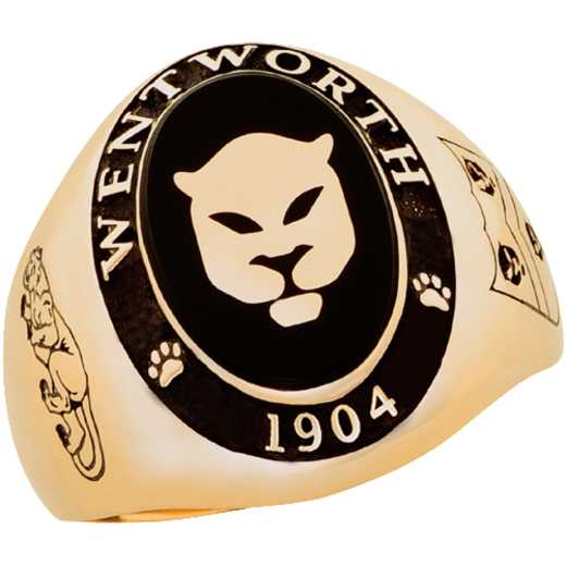 Wentworth Institute of Technology Men's Large Signet Ring