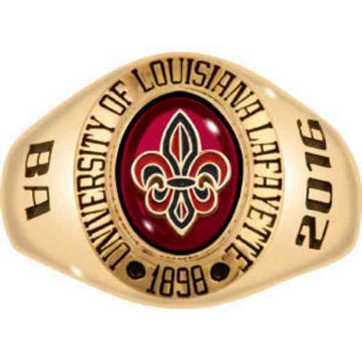 University of Louisiana at Lafayette Women's Signet Ring