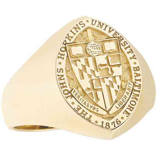 Johns Hopkins University Baltimore-MD Women's Signet Ring