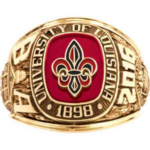 University of Louisiana at Lafayette Men's Traditional Ring