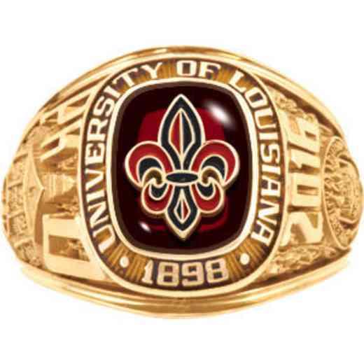 University of Louisiana at Lafayette Women's Traditional Ring