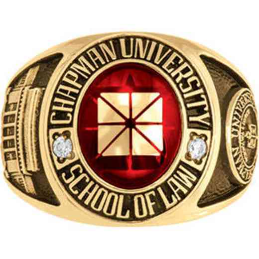 Chapman University School of Law Men's Traditional Ring