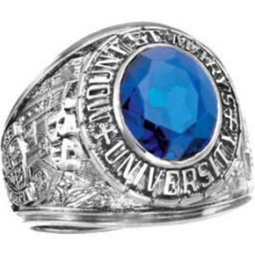 Mount Saint Mary's University Class of 2019 Men's Traditional Ring