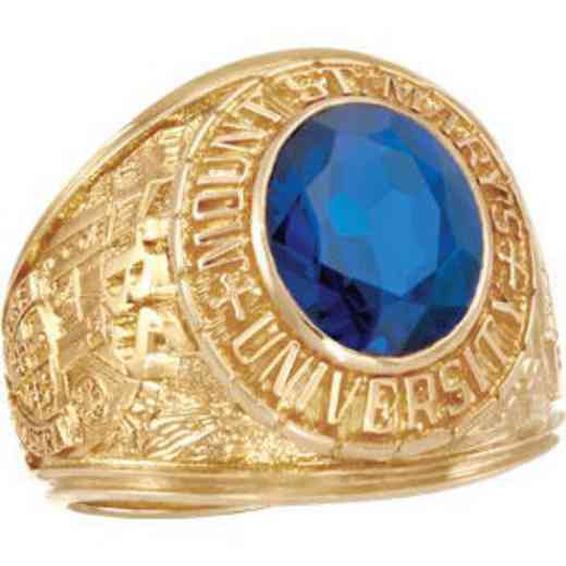 Mount Saint Mary's University Class of 2016 Men's Traditional Ring