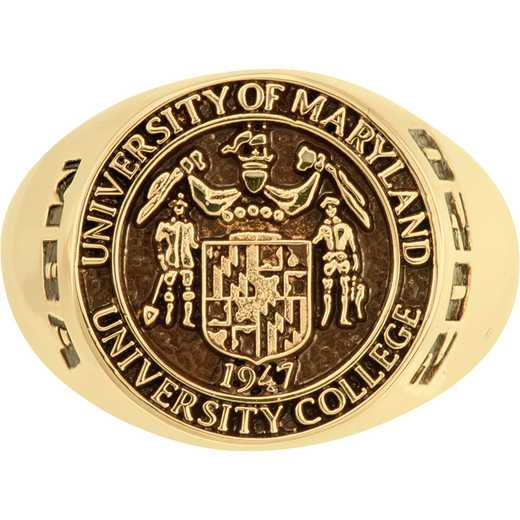 University of Maryland University College Europe Men's 4820L COL Ring