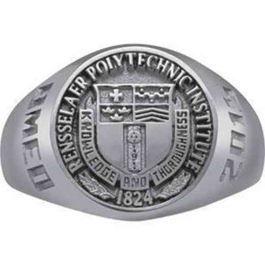 Rensselaer Polytechnic Institute Class of 2015 Women's Round Medallion Signet Ring