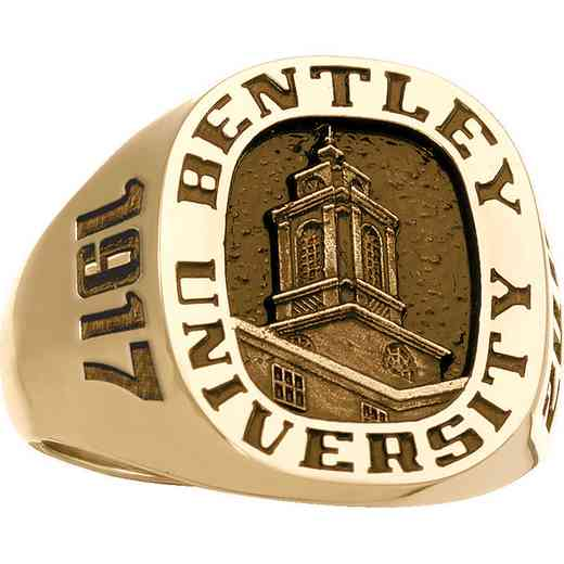 Bentley University McCallum Graduate School Men's Large Signet Ring