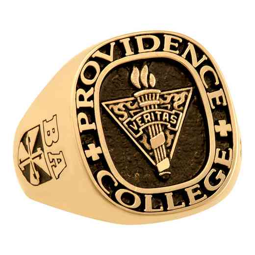 Providence College Class of 2015 Men's 4830L All Metal Signet Ring