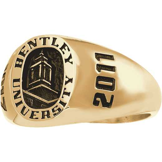 Bentley University Main Campus Women's Petite Antique Signet Ring