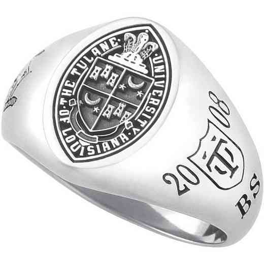 Tulane University New Orleans Women's Signet Ring