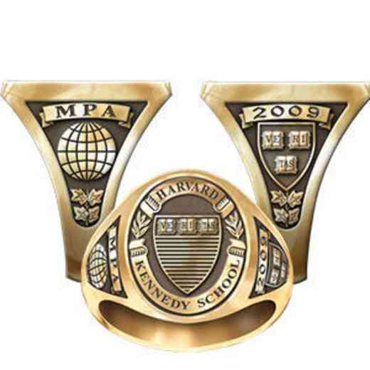 Harvard Kennedy School Men's Signet Ring