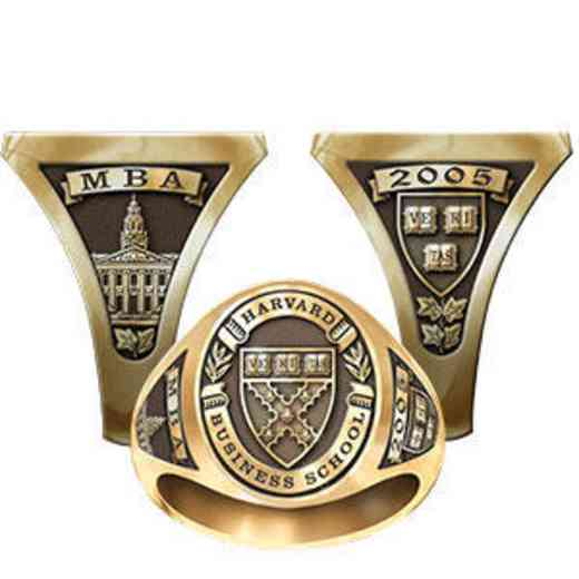 Harvard Business School Men's Signet Ring