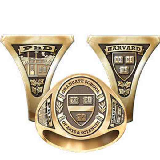 Harvard Graduate School of Arts And Sciences Men's Signet Ring