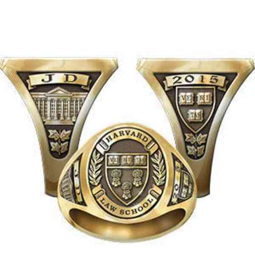 Harvard Law School Men's Signet Ring