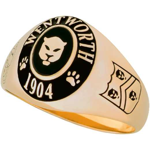 Wentworth Institute of Technology Women's Extra Small Signet Ring