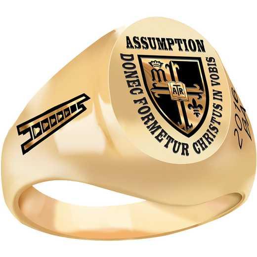 Assumption College Medium Signet Ring