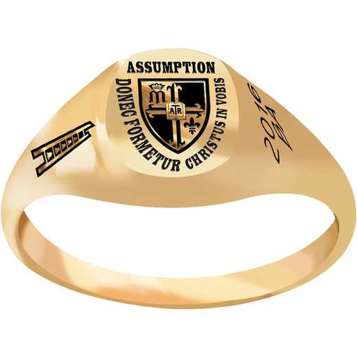 Assumption College Small Signet Ring