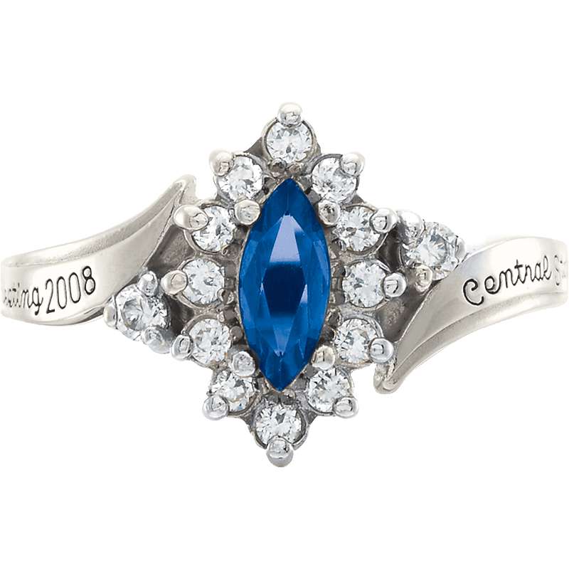 John Jay College of Criminal Justice Allure Ring