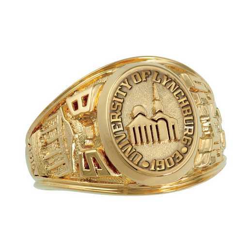 Lynchburg College Women's Extra-Small Metal Top Ring