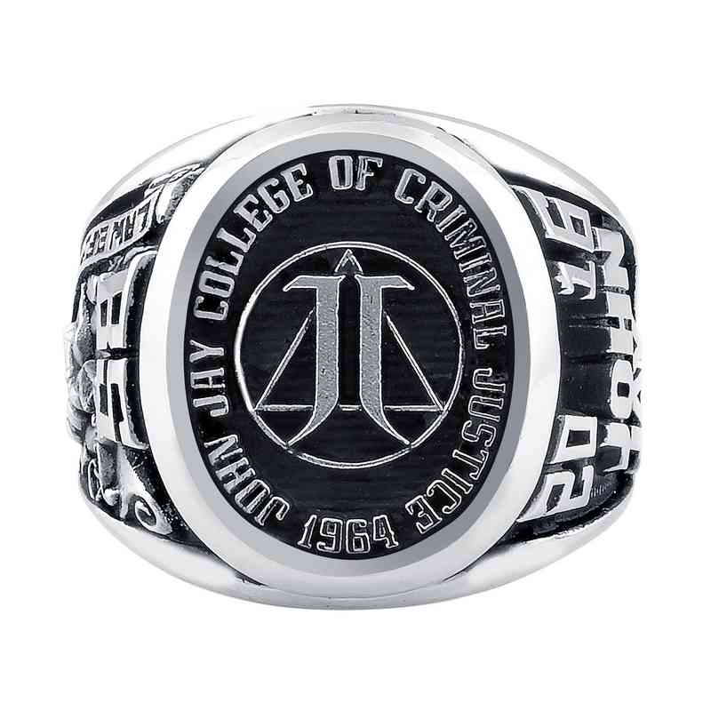 John Jay College of Criminal Justice Collegian Ring