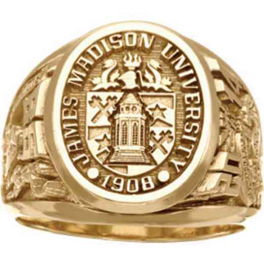 James Madison University Class of 2014 Men's Collegian Ring