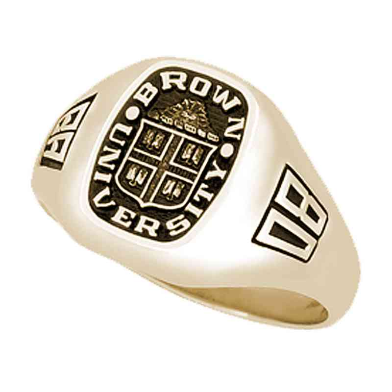 Brown University Men's Diplomat Ring