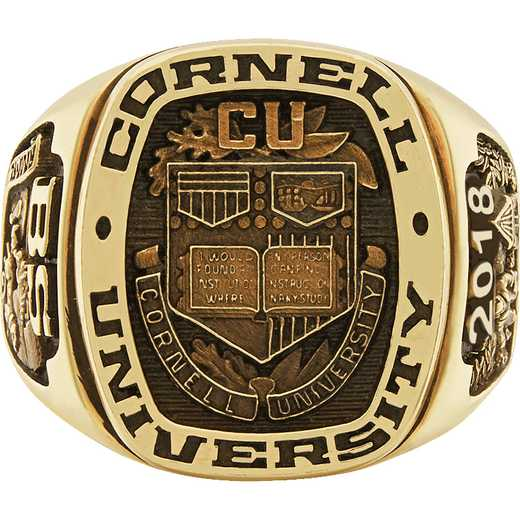 Cornell University Men's Legend Signet Top Ring